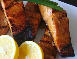 Teriyaki Ginger Salmon
