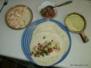 sweet garlic shrimp tacos-4