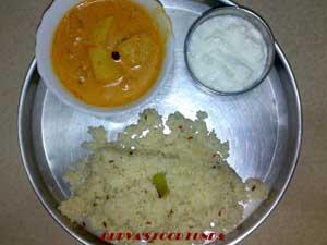 Varicha Bhat – Spicy Samo Rice