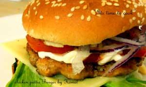 Chicken patties Burger