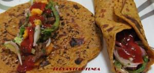 Bean Tortila Wrap