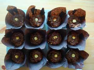 Enchanting Ferrero Rocher Muffins