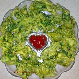 Palak Bhaji (Spinach Fritters)