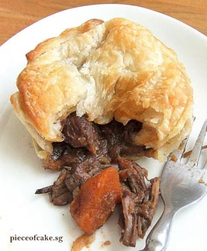 Guinness Beef & Onion Pies