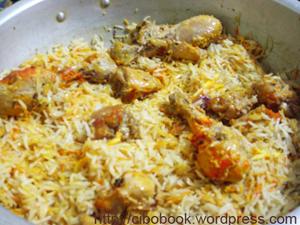 Hindustani Chicken Pulav