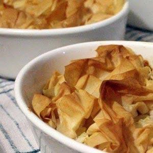 Speedy Thai Butternut & Sweet Potato Filo Tart