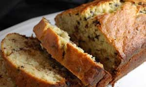 Oat, Coconut, Nuts & Chocolate Chip Banana Bread