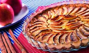 Γαλλική τάρτα μηλόπιτα