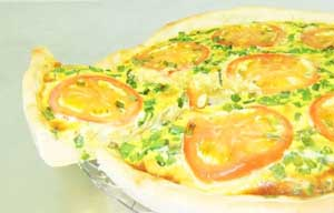 Chicken Quiche