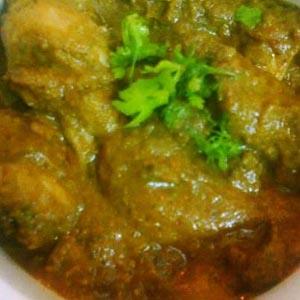 Fennel Chicken curry