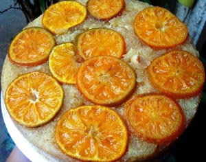 Orange and Cinnamon Upside-down Cake