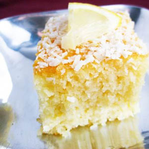 Revani – Greek Semolina Cake with Orange Syrup