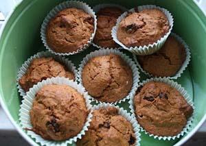Carrot & Walnut Memory Muffins