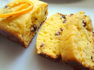 Cranberry Orange Moist Cake