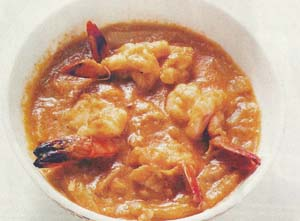 Doi Chingri-Prawn In Yoghurt Sauce