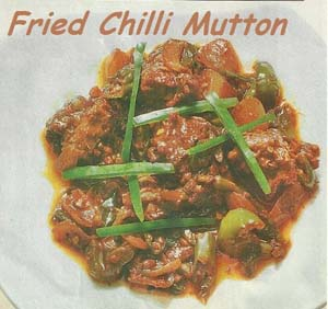 Fried Chilli Mutton