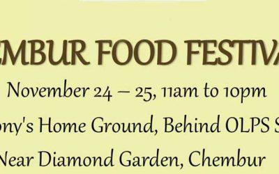 Chembur Food Festival- 2nd Edition