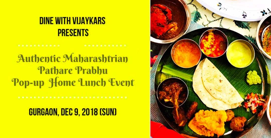 Authentic Maharashtrian Pathare Prabhu Lunch