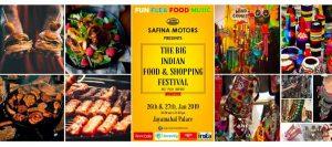 The Big Indian Food & Shopping Festival @ Jayamahal Palace