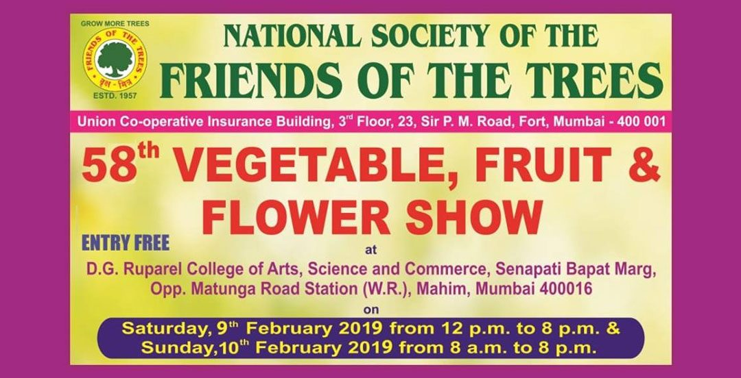 58th Vegetable, Flower & Fruit Show