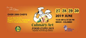 Culinary Art Food Expo @ Sirimavo Bandaranaike Memorial Exhibition Center
